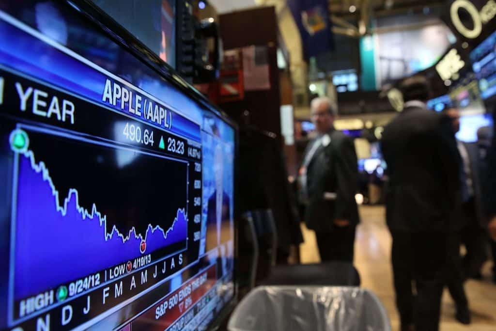 Apple Shares Jump