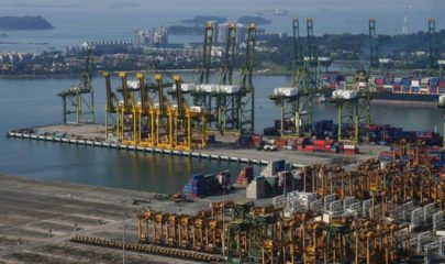 Exports Rise in Singapore But Electronics Disappoint