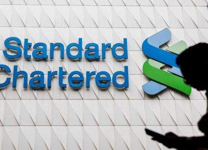 Standard Chartered feels economic slow down
