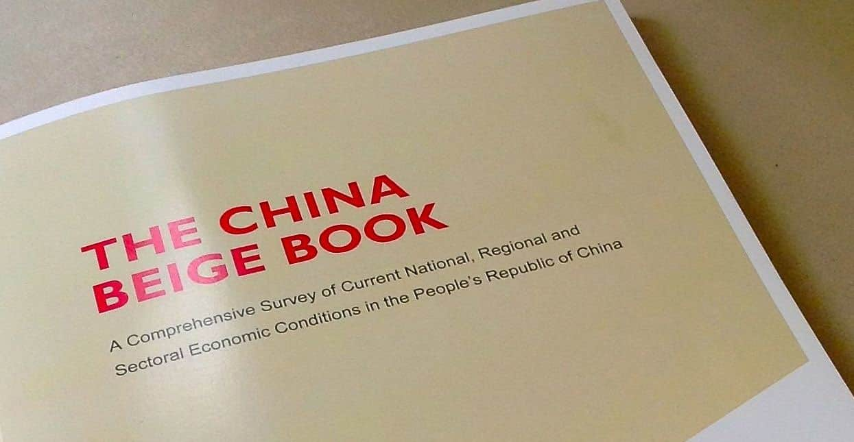 Image result for china beige book