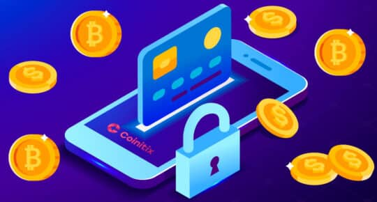 Buying Bitcoin via Credit Card is Easy & Secure with Coinitix